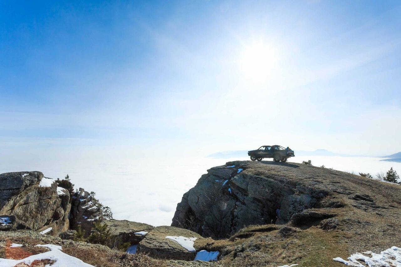 На внедорожнике в Крыму можно увидеть больше